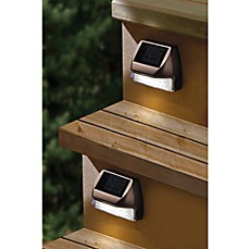 image of Moonrays® Solar Mini Deck Step Light