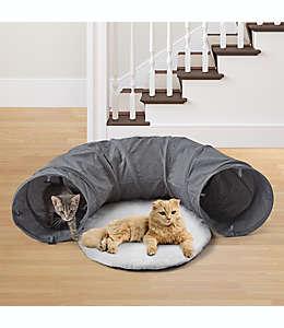 Túnel de poliéster para gato Pawslife™ color gris