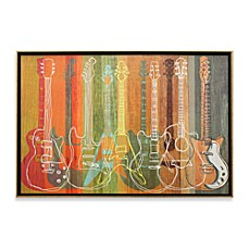 image of Guitar Heritage Wall Art