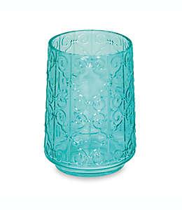 Vaso de resina Peacock
