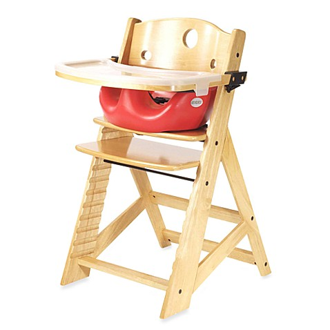 Keekaroo 174 Height Right High Chair Natural With Cherry