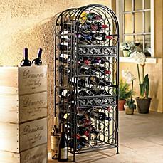 Wine Enthusiast™ Renaissance Wrought Iron Wine Jail  sc 1 st  Bed Bath u0026 Beyond & Wine Racks u0026 Storage   Bed Bath u0026 Beyond