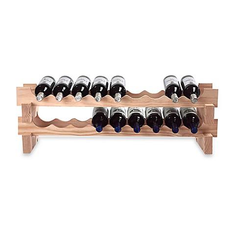 18 Bottle Stackable Wine Rack Kit Bed Bath Amp Beyond