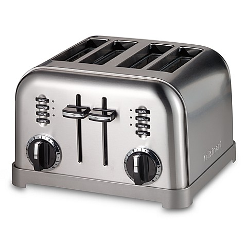 Cuisinart® Metal Classic 4-Slice Toaster - Bed Bath & Beyond | {Toaster 23}