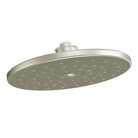 Moen Waterhill Rainshower Showerhead In Brushed Nickel Bed Bath Beyond