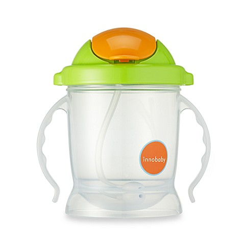 Innobaby Sippin' Smart™ EZ Flow Straw Sippy 10-Ounce in Green