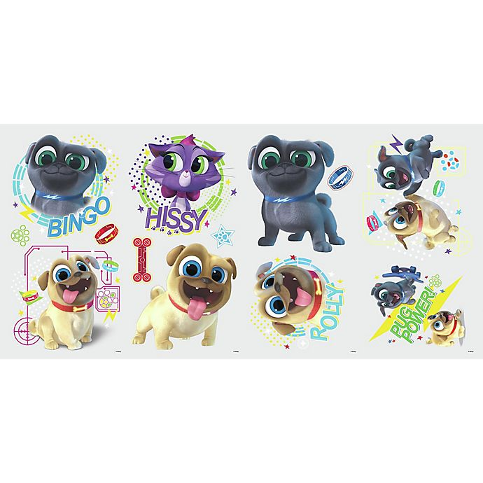 Roommates Puppy Dog Pals 13 Piece Vinyl Wall Decal Set Bed Bath Beyond