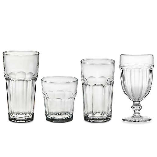 Libbey Gibraltar Drinkware Collection, Libbey Gibraltar Iced Tea Glasses Set Of 12