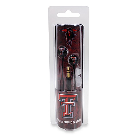 Texas Tech University Ignition Earbuds