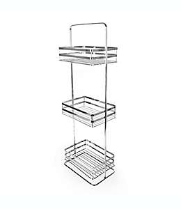 SALT™ Torre de 3 niveles para baño en cromo