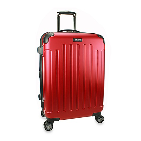 Kenneth Cole Reaction Renegade 24-Inch Expandable 8-Wheel Upright in Red