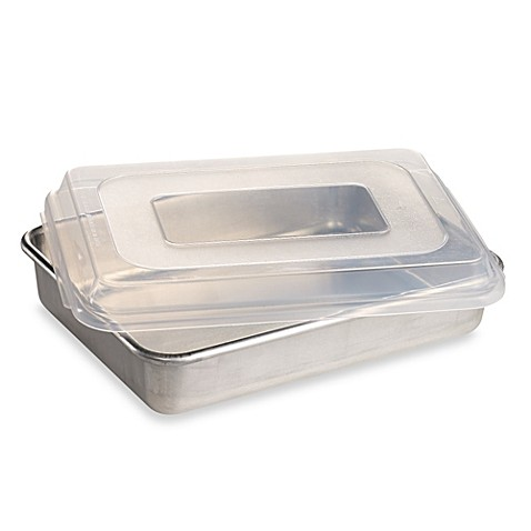 Nordic Ware 174 9 Inch X 13 Inch Aluminum Cake Pan With Lid