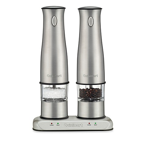 Cuisinart 174 Rechargeable Electric Salt And Pepper Mill Set