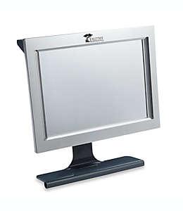 Espejo antiempañante de acrílico para regadera con LED