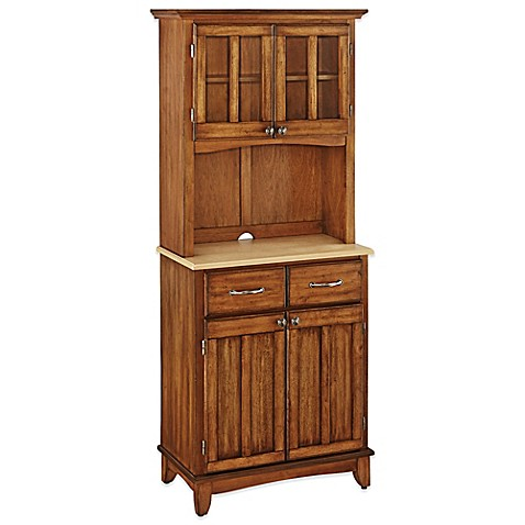 Buy Home Styles Natural Wood Top Small Buffet Server With