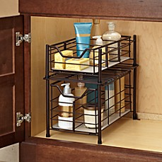 image of Deluxe Bathroom Cabinet Drawer in Bronze