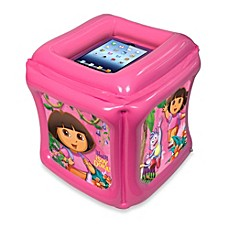 image of CTA Digital Dora the Explorer™ Inflatable Play Cube for iPad® with App