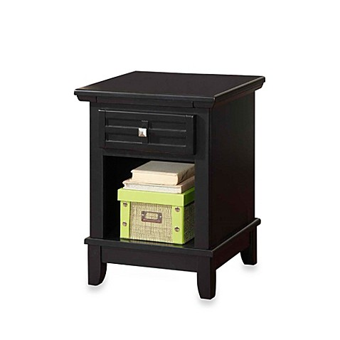 Home styles arts crafts nightstand bed bath beyond for How to build a nightstand from scratch