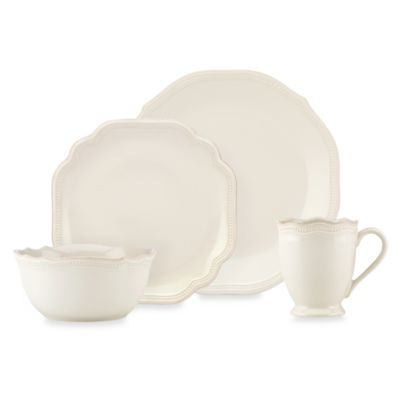 image of Lenox® French Perle Bead White Dinnerware Collection