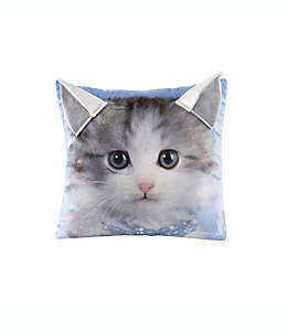 Cojín decorativo cuadrado Rachael Hale® Animals Kitty