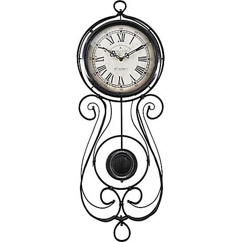 chateau betton pendulum wall clock