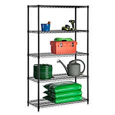 image of Honey-Can-Do® Steel 5-Tier Shelving Unit