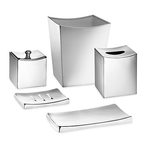 kraftware monaco stainless steel amenity tray bed bath beyond. Black Bedroom Furniture Sets. Home Design Ideas
