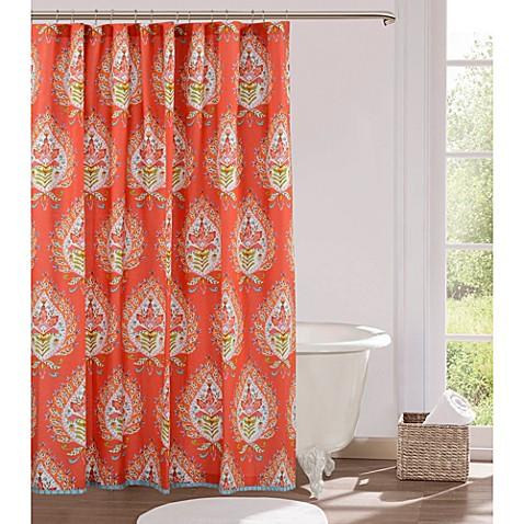 Kalani Fabric Shower Curtain - Bed Bath & Beyond