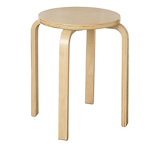 Bentwood Stacking Stool Bed Bath Amp Beyond