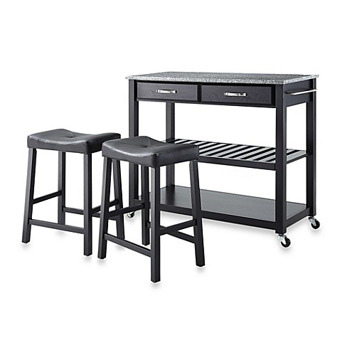 Buy Crosley Granite Top Kitchen Rolling Cart Island With