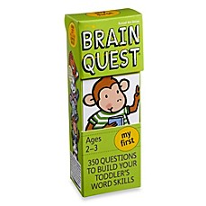 image of Brain Quest My First Question and Answer Game