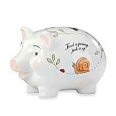 image of Lenox® Butterfly Meadow® Baby Piggy Bank