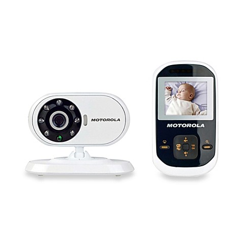 motorola mpb18 video baby monitor with 1 8 inch digital screen bed bath beyond. Black Bedroom Furniture Sets. Home Design Ideas