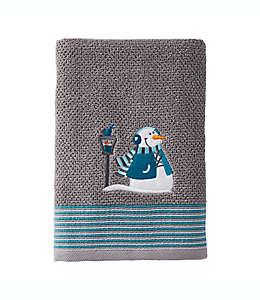 Toalla de medio baño Snow Buddies en gris