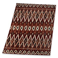 image of Marcella Tribal Rug in Red