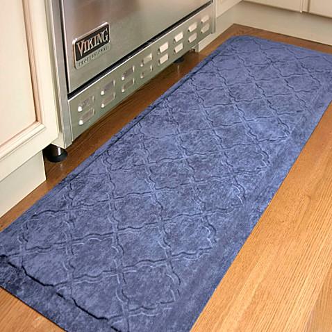 Buy Comfort Pro Onyx 2 Foot X 5 Foot Kitchen Mat Navy