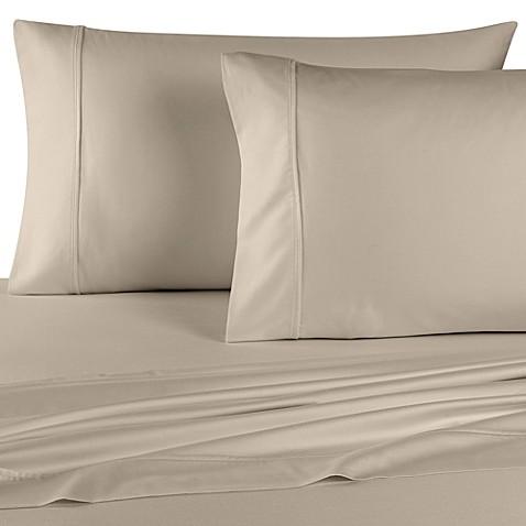 buy wamsutta 400 thread count memory foam mattress sheet set from bed bath beyond. Black Bedroom Furniture Sets. Home Design Ideas