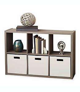 Organizador .ORG™ de 6 compartimentos en gris