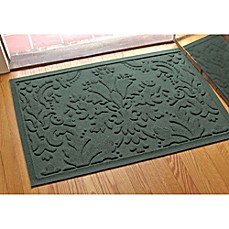 image of Weather Guard™ Damask 23-Inch x 35-Inch Door Mat
