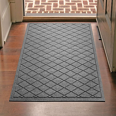 Weather Guard™ 30-Inch x 45-Inch Argyle Door Mat - Bed Bath & Beyond