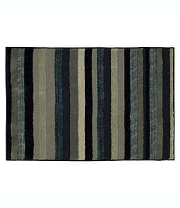 Tapete decorativo a rayas Mohawk Home® Farmhouse de 79.24 x 94.48 cm en azul marino