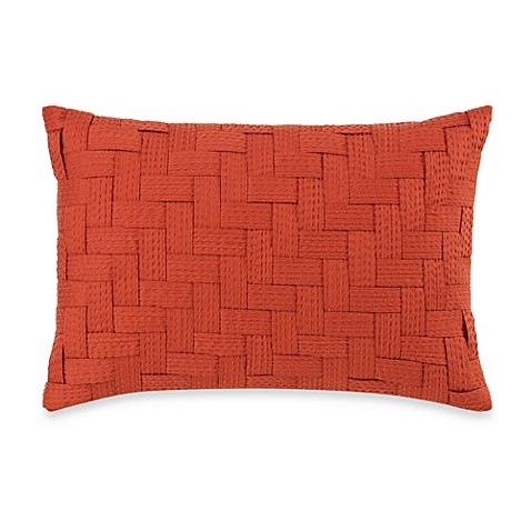 Bed Bath And Beyond Orange Throw Pillows : Royal Heritage Home Pelham Geometric Breakfast Throw Pillow in Orange - Bed Bath & Beyond