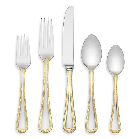 Lenox® Vintage Jewel Gold™ 5-Piece Flatware Place Setting