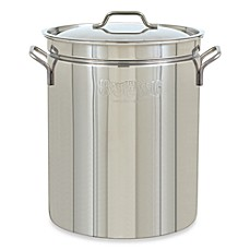 image of Bayou Classic® Stainless Steel Stock Pot with Vented Lid