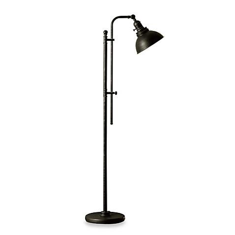 Bleeker Adjustable CFL Floor Lamp