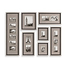 image of uttermost massena 7 piece picture frame collage