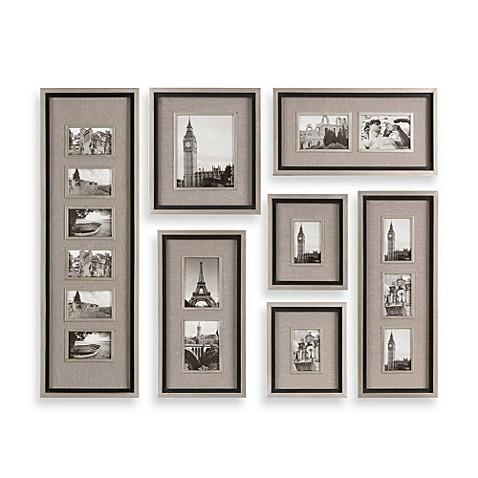 uttermost massena 7 piece picture frame collage bed bath beyond