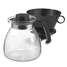 image of Melitta® Pour Over 10-Cup Coffee Maker with Glass Carafe