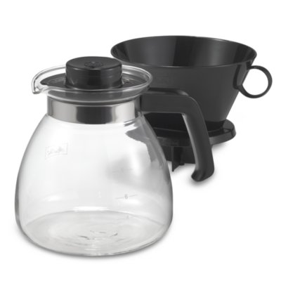 Bodum Pour Over Coffee Maker Bed Bath And Beyond : Melitta Pour Over 10-Cup Coffee Maker with Glass Carafe - Bed Bath & Beyond