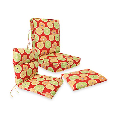 Outdoor seat cushion collection in springdale beachside for Bed bath beyond gel seat cushion